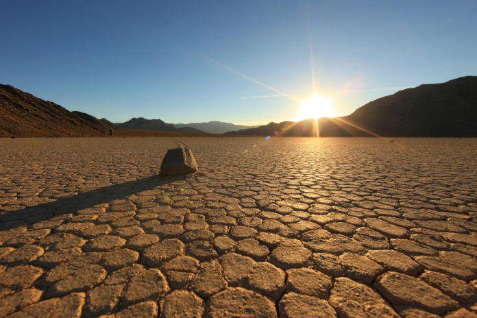 Tørke i Death Valley