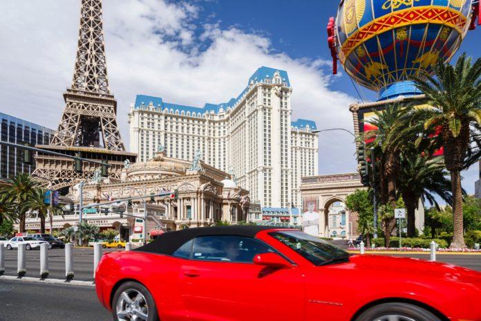 Camaro i Las Vegas