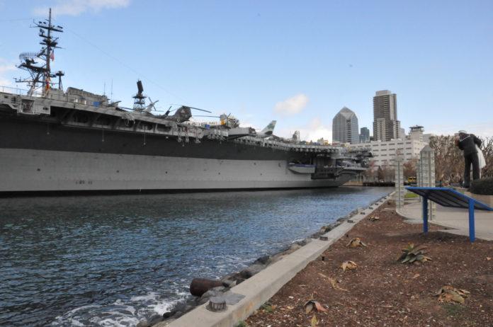 USS Midway i San Diego