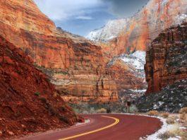 Zion National Park Cliffs, USA